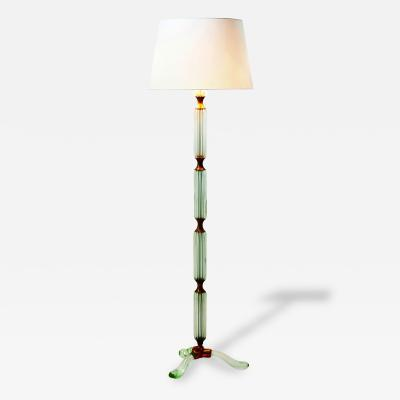 Archimedes Seguso Floor Lamp in Murano Glass