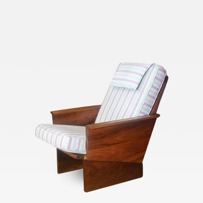 Arden Riddle Arden Riddle High Back Lounge Chair Studio Crafted 1988