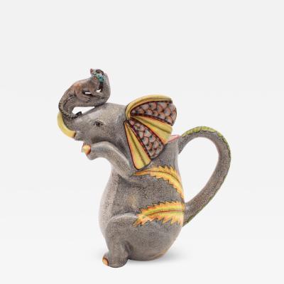 Ardmore Ceramic Art Elephant Jug