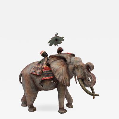 Ardmore Ceramic Art Elephant Rider