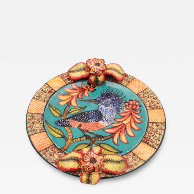 Ardmore Ceramic Art Giraffe Platter