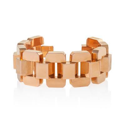 Argentinian Retro Rose Gold Bracelet