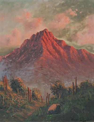Arizona Desert Painting