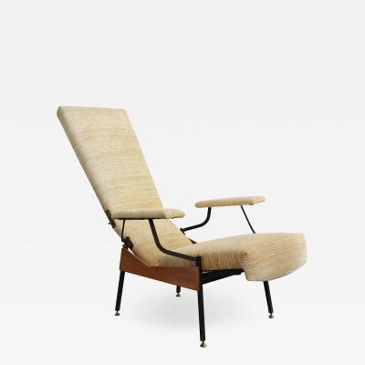 Armchair chaise longue italian production from 50s