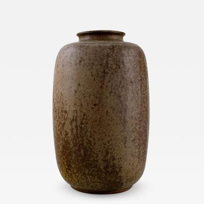 Arne Bang Arne Bang Vase in glazed ceramics Modern design 1930s