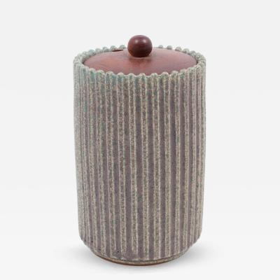 Arne Bang Vase in Glazed Stoneware