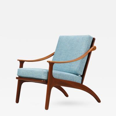 Arne Hovmand Olsen Arne Hovmand Olsen Teak Lounge Chair for Mogens Kold