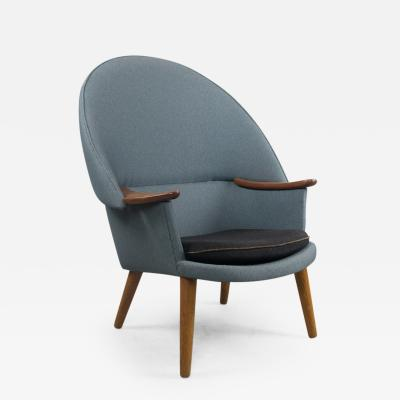 Arne Hovmand Olsen Rare Armchair in the Manner of A Hovmand Olsen