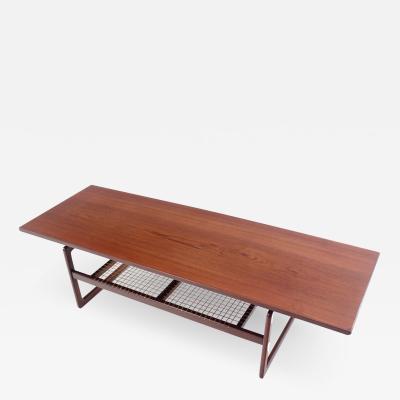 Arne Hovmand Olsen Scandinavian Modern Coffee Table Designed by Arne Hovmand Olsen