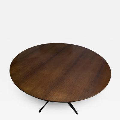 Arne Jacobsen 1950s Arne Jacobsen Round Table for Fritz Hansen