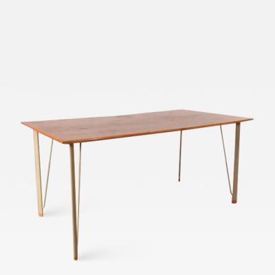 Arne Jacobsen 1955s Dining Table by Arne Jacobsen for Fritz Hansen Denmark