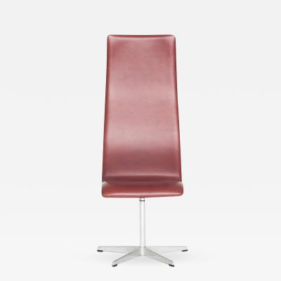 Arne Jacobsen AJ 3172 Oxford Indian Red Leather