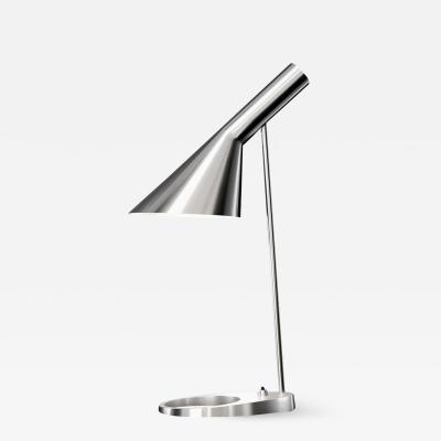 Arne Jacobsen Arne Jacobsen AJ Table Lamp in Stainless Steel for Louis Poulsen