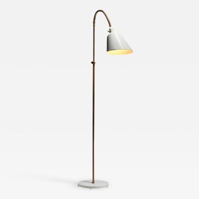 Arne Jacobsen Arne Jacobsen Bellevue AJ7 Brass Floor Lamp Denmark 1929