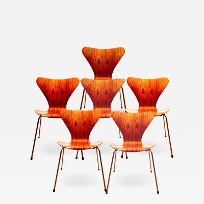 Arne Jacobsen Arne Jacobsen Series 7 Butterfly Chair Model 3107 Denmark 1955