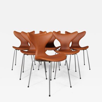 Arne Jacobsen Arne Jacobsen Six chairs M gen Lilje model 3108 6