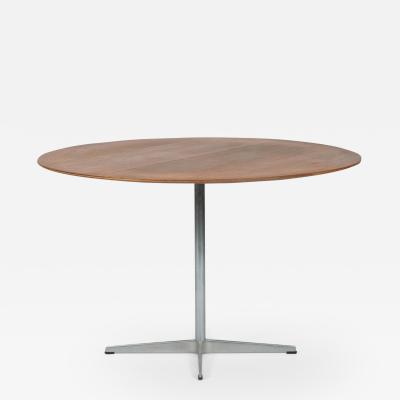 Arne Jacobsen Arne Jacobsen dining table 60er teak Fritz Hansen