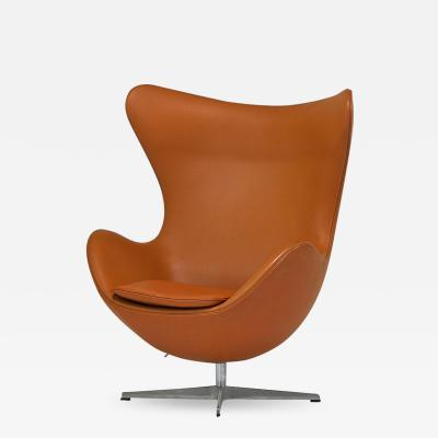 Arne Jacobsen Arne Jacobsen for Fritz Hansen Egg Chair Model 3316