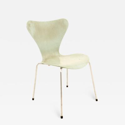 Arne Jacobsen For Fritz Hansen Mid Century Modern SERIES 7 Chair Frost
