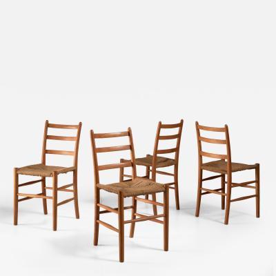 Arne Jacobsen Four Arne Jacobsen Novo Chairs Denmark 1930s