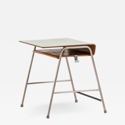 Arne Jacobsen Munkegaard School Desk Produced by Fritz Hansen