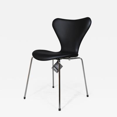 Arne Jacobsen New Arne Jacobsen 3107 Syveren Chairs aniline leather