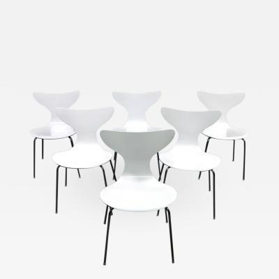 Arne Jacobsen Six 1970s Seagull Chairs By Arne Jacobsen For Fritz Hansen