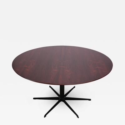 Arne Jacobsen Six Star Series Rosewood Table by Arne Jacobsen for Fritz Hansen