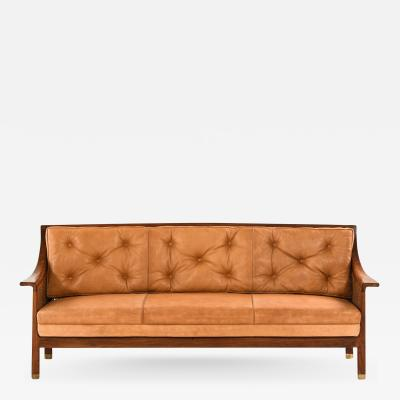 Arne Jacobsen Sofa Produced by Cabinetmaker Otto Meyer
