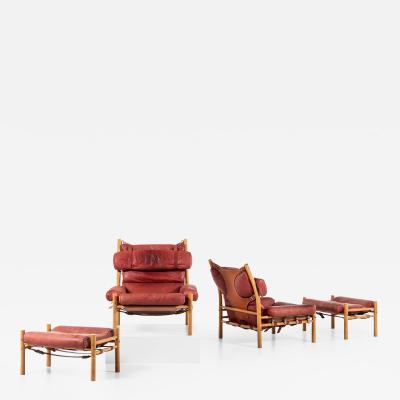 Arne Norell ARNE NORELL INCA EASY CHAIRS