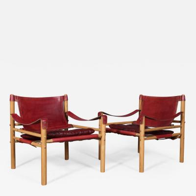Arne Norell Arne Norell A pair of safari chairs model Scirocco 2