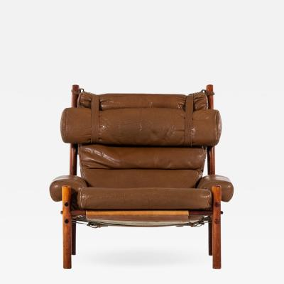 Arne Norell Arne Norell Easy Chair Model Inca Produced by Arne Norell AB in Sweden