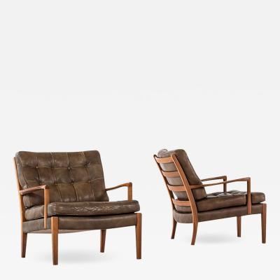 Arne Norell Arne Norell Easy Chairs Model L ven Produced by Arne Norell AB