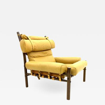 Arne Norell Arne Norell Lounge Chair Inca Leather Sweden 1965