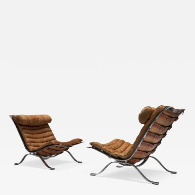 Arne Norell Arne Norell Lounge Chairs Ari Produced by Arne Norell AB 1960s