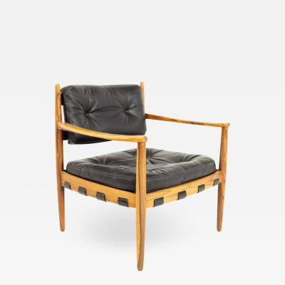 Arne Norell Arne Norell Midcentury Rosewood Lounge Chair