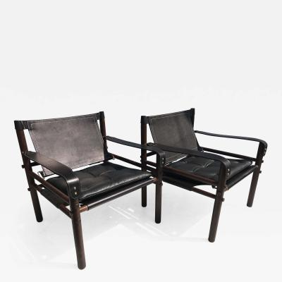 Arne Norell Arne Norell Sirocco Safari Chairs