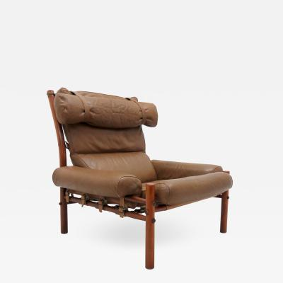 Arne Norell Easy Chair Model Inca by Arne Norell 1960s
