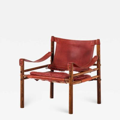Arne Norell Easy Chair Model Sirocco Produced by Arne Norell AB in Aneby