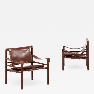 Arne Norell Easy Chairs Model Sirocco Produced by Arne Norell AB