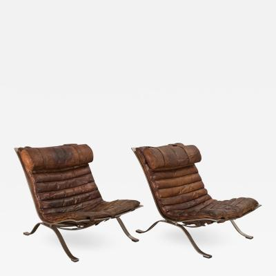 Arne Norell Pair of Arne Norell Ari Lounge Chairs