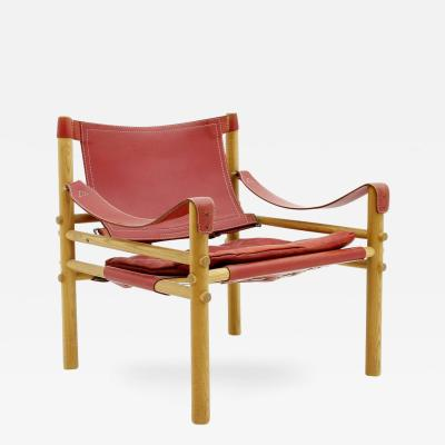 Arne Norell Safari Lounge Chair by Arne Norell Sweden 1960s