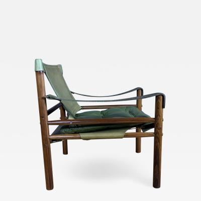 Arne Norell Vintage Sirocco Safari Chair by Arne Norell 1960s Sweden