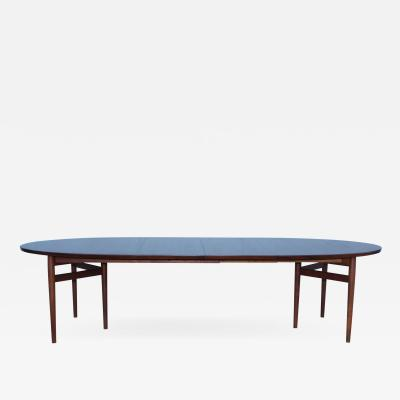 Arne Vodder Arne Vodder Teak Oval Dining Table