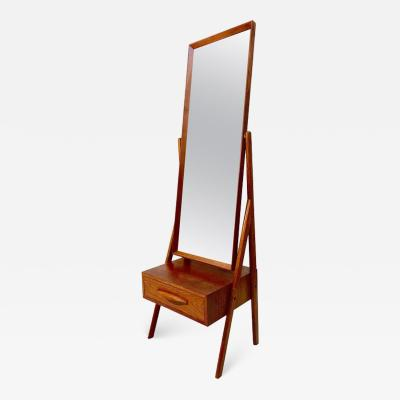Arne Vodder Cheval Floor Mirror by Arne Vodder