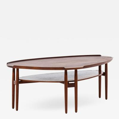 Arne Vodder Coffee Table Produced in Denmark