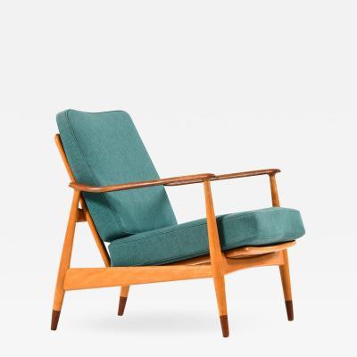 Arne Vodder Easy Chair Model 161 Produced by France Daverkosen