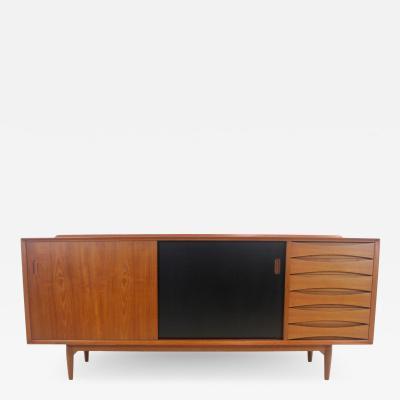 Arne Vodder Impressive Triennale Sideboard Credenza Designed by Arne Vodder