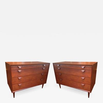 Arne Vodder Pair of Grete Jalk Chest of Drawers