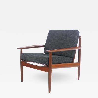 Arne Vodder Rare Scandinavian Modern Teak Armchair Designed by Arne Vodder